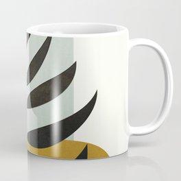 Soft Abstract Large Leaf Coffee Mug