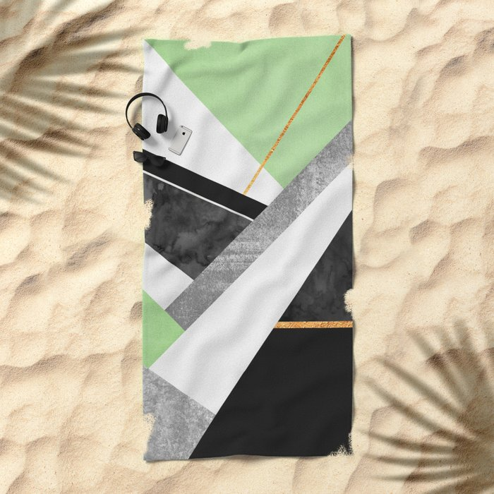 Lines & Layers 1.3 Beach Towel
