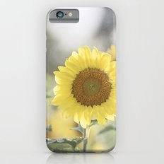 Sunflower Flower Photography, Yellow Sunflowers Floral Nature Photography Slim Case iPhone 6s
