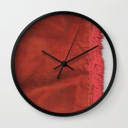 Vintage Pillowcase Wall Clock
