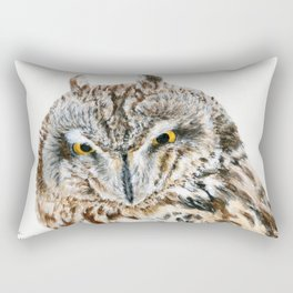 Short-Eared Owl by Teresa Thompson Rectangular Pillow