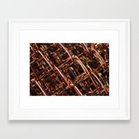 the wire Framed Art Prints featuring wire by Seed Margarita