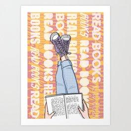 Read Books! Art Print