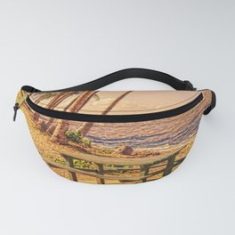 Time for a picnic on a warm tropical day Fanny Pack