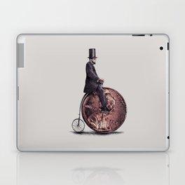 Penny Farthing (grey option) Laptop & iPad Skin