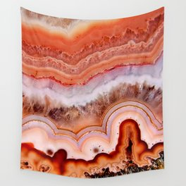 ORANGE AGATE Wall Tapestry
