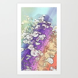 Swaying Song Of Summer - Bleached Art Print