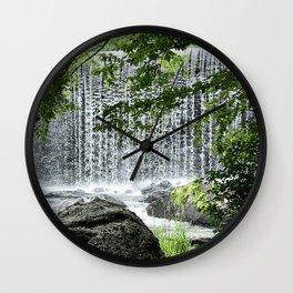 LMC Waterfall Wall Clock