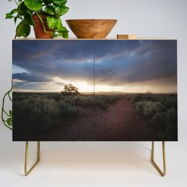 New Mexico Sunset Credenza