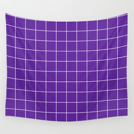 Grape Grid Wall Tapestry