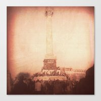 bastille Canvas Prints featuring Bastille by Elliott Riot