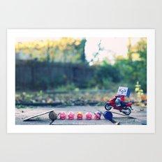 Sweet Jump Art Print