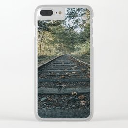 Shawnigan Tracks Clear iPhone Case