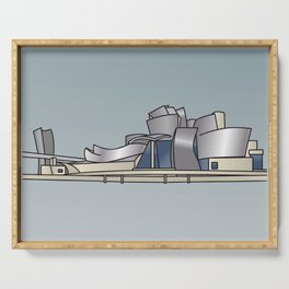 Guggenheim Museum of Bilbao Serving Tray