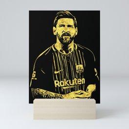 Leo Messi Fan Art Mini Art Print