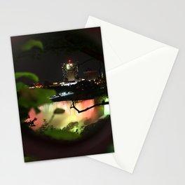Niagara Falls at night Stationery Cards