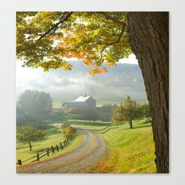 COUNTRY ROAD1 Canvas Print