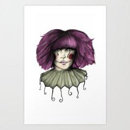 ARTPOP clown  Art Print