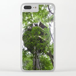 Treehouse in the Canopy Clear iPhone Case