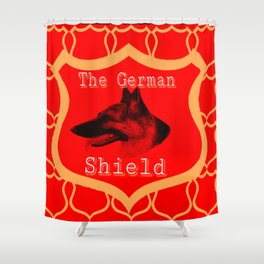 The German Shield Shower Curtain