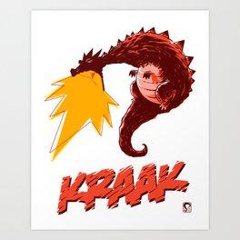 KRAAK – Dragon Art Print
