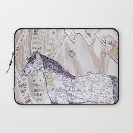 Snowy Evening Woods Laptop Sleeve