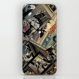 Vintage comics iPhone Skin