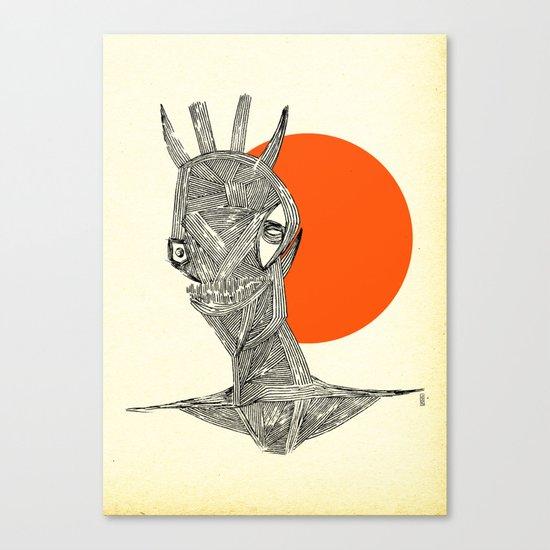 - halloween part 1 - Canvas Print