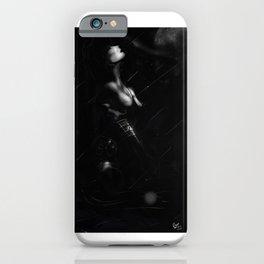 Rain forecast iPhone Case