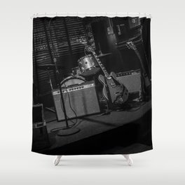 The Club Stage Shower Curtain