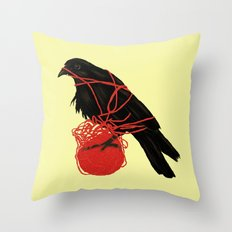Transatlanticism Throw Pillow