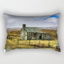 Derilict in the Yorks Dales Rectangular Pillow