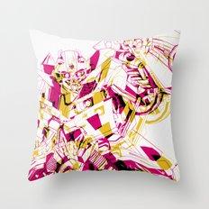 Bee V.01 Throw Pillow