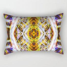 Light Dance Kaleidoscope Edit 2 Rectangular Pillow
