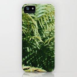 Fern'd Gully iPhone Case