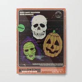 Halloween III Metal Print