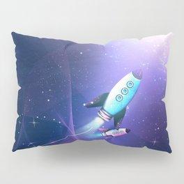 Light String Rocket Pillow Sham