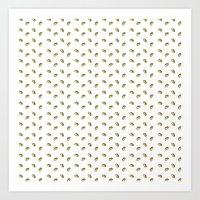 taco Art Prints featuring TACO TACO TACO by JaimieHallarn