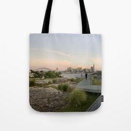 Sunset over the city, Sydney Australia Tote Bag