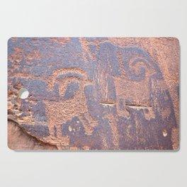 Native Indian Rock Art Cutting Board