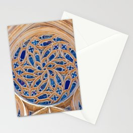 rose window Stationery Cards
