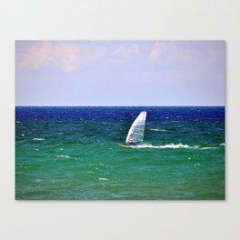 windsurf Canvas Print