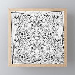 Kamasutra Framed Mini Art Print