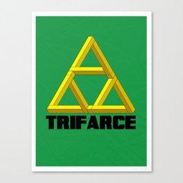 Trifarce Canvas Print