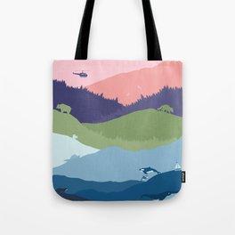 Vancouver Landscape Tote Bag