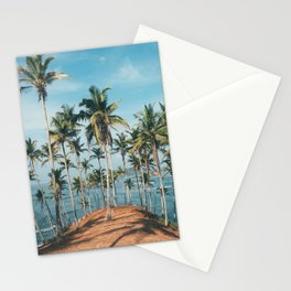 Palm trees 4 Stationery Cards