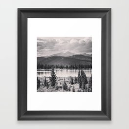 Echo Lake, Colorado Framed Art Print