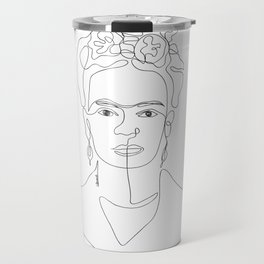 Doña Frida Kahlo Travel Mug