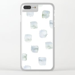 Wintry Windows Clear iPhone Case