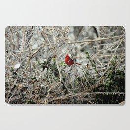 Pop of Cardinal Cutting Board